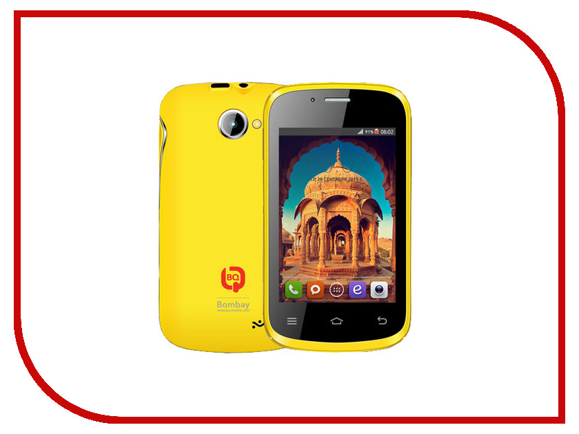 Сотовый телефон BQ Bombay BQS-3503 Yellow