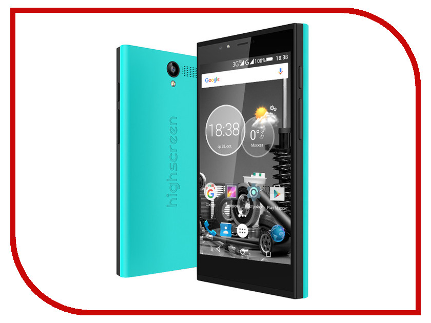 Сотовый телефон Highscreen Pure Power Blue<br>