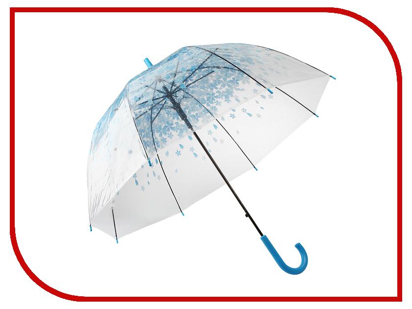 Зонт Эврика Цветы синие 97504