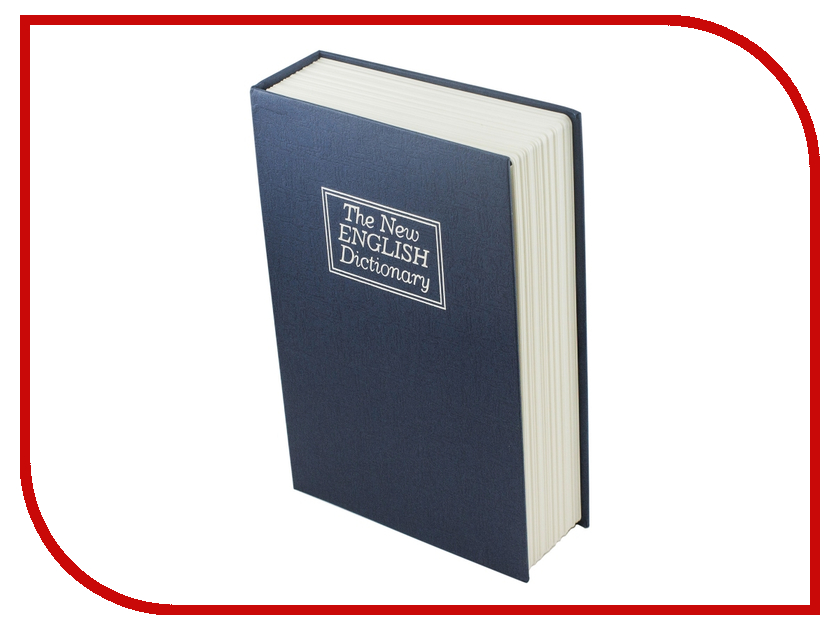 Шкатулка Эврика Сейф-книга Английский словарь Blue 97531 от Pleer
