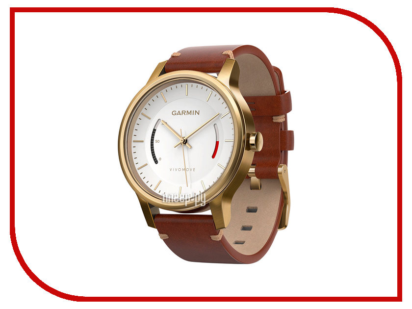Умные часы Garmin Vivomove Premium Gold 010-01597-21