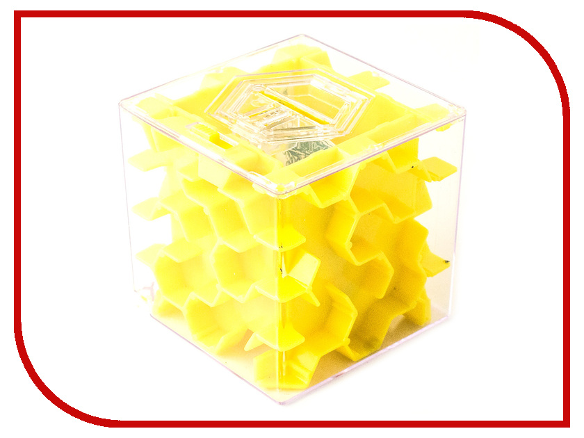 Копилка для денег Эврика Лабиринт Yellow 97476