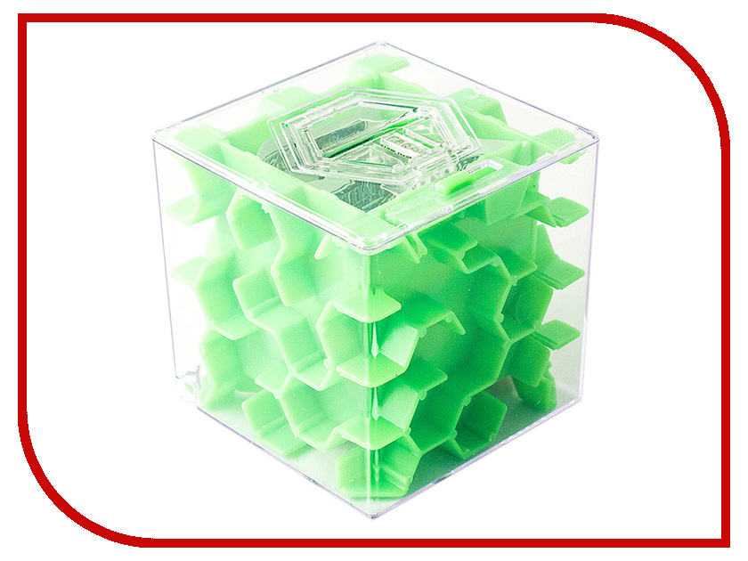 Копилка для денег Эврика Лабиринт Green 97475