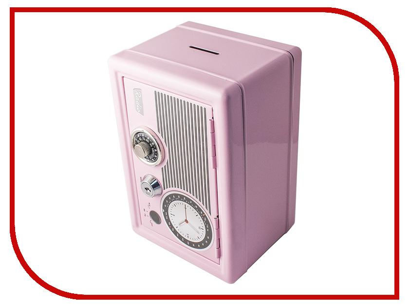 Копилка для денег Эврика Ретро Pink 97445<br>