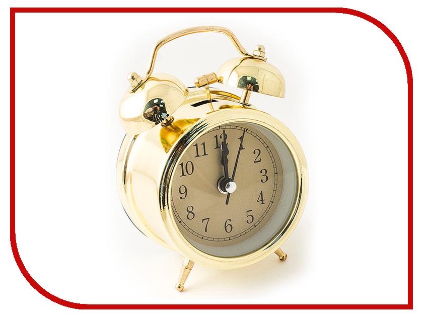 Часы Эврика 97496 Gold часы эврика античасы классика белая стеклянные