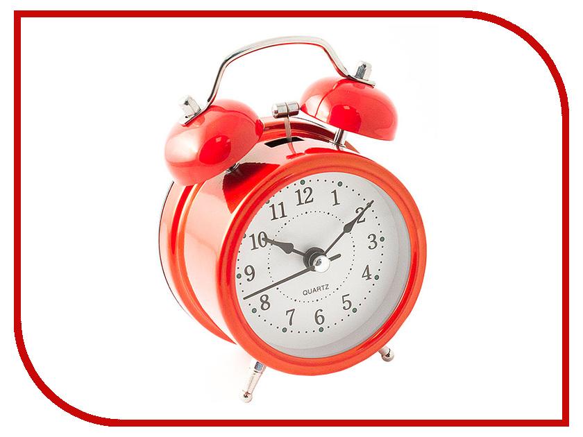 Часы Эврика 97499 Red часы эврика античасы классика белая стеклянные