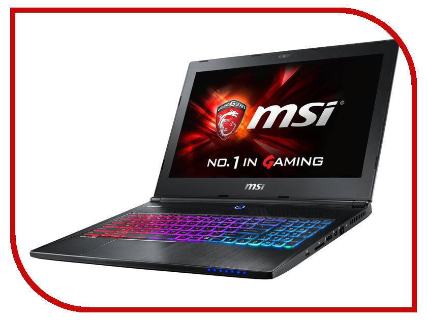 Ноутбук MSI GS60 6QD-624XRU Ghost 9S7-16H822-624 Black Intel Core i7-6700HQ 2.6 GHz/8192Mb/1000Gb/nVidia GeForce GTX 965M 2048Mb/Wi-Fi/Bluetooth/Cam/15.6/1920x1080/Windows 10<br>