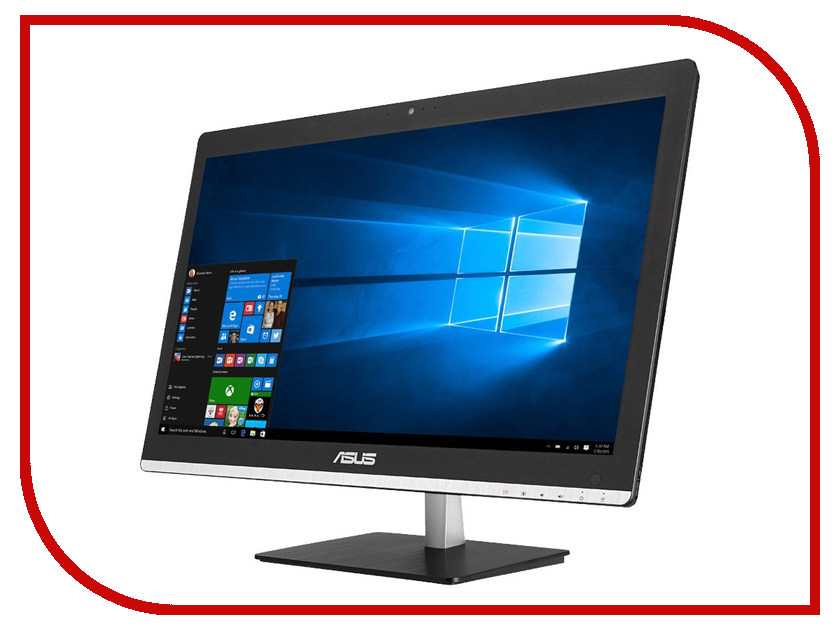 Моноблок ASUS Vivo AiO V220ICNK-BC007X Black 90PT01I1-M00430 (Intel Core i3-6100 2.3 GHz/4096Mb/1000Gb/NVIDIA GT 930M 2Gb/DVD-RW/Wi-Fi/Cam/21.5/1920x1080/Windows 10)<br>