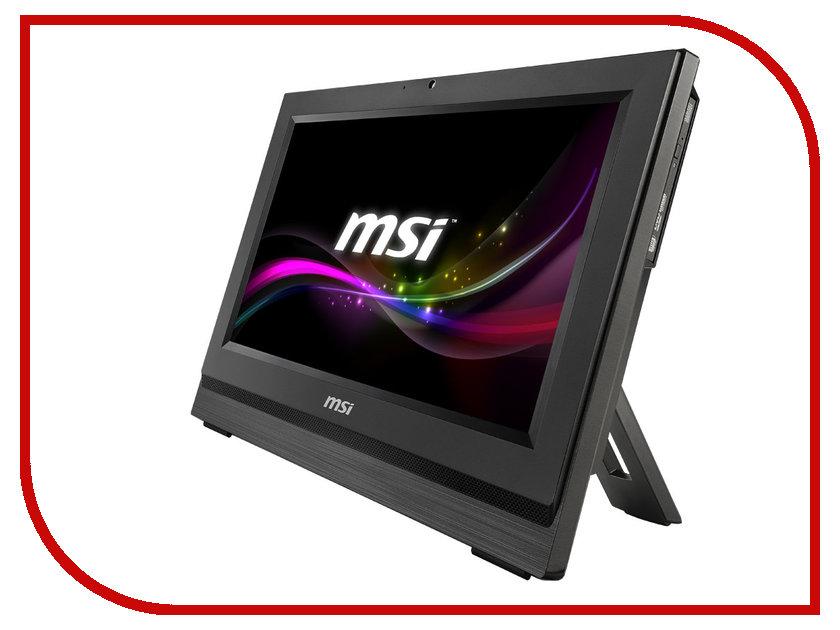 Моноблок MSI AP190-016XRU Black 9S6-A95311-016 (Intel Celeron 1037U ULV 1.8 GHz/4096Mb/500Gb/DVD-RW/Wi-Fi/Cam/18.5/Non-OS)<br>