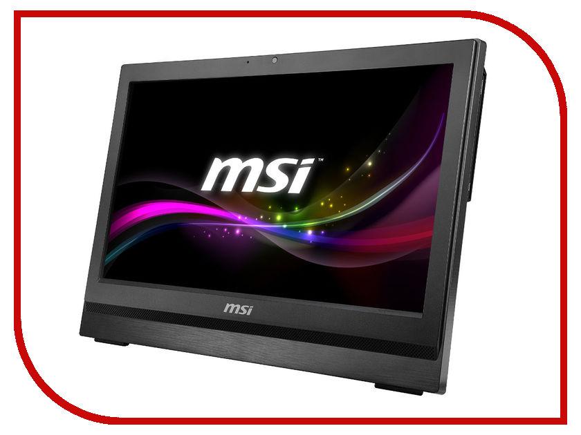 Моноблок MSI AP200-236RU Black 9S6-AA7511-236 (Intel Pentium G3250 3.2 GHz/4096Mb/500Gb/DVD-RW/Wi-Fi/Cam/20.0/DOS)