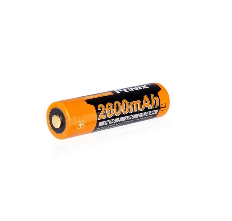 Аккумулятор Fenix 18650 2600 mAh ARB-L18-2600 (1 штука)