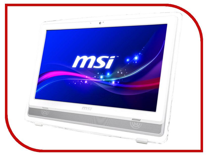 Моноблок MSI AE222T-286RU White 9S6-AC1112-286 (Intel Pentium G3250 3.2 GHz/4096Mb/500Gb/DVD-RW/Wi-Fi/Cam/21.5/Non-OS)