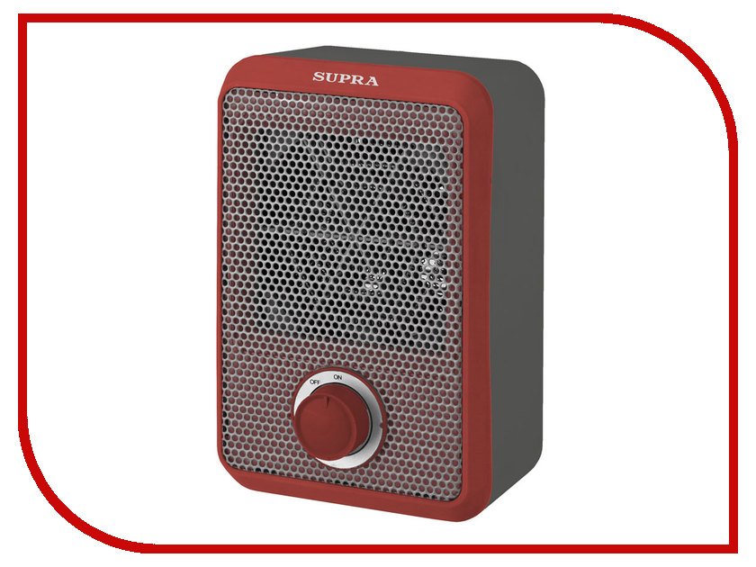 Тепловентилятор SUPRA TVS-F08 Grey-Red<br>