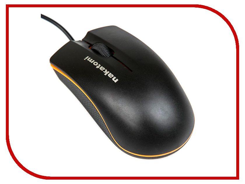 Мышь проводная Nakatomi MON-03U Black USB