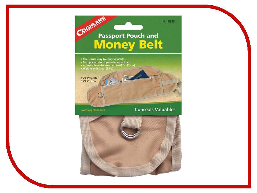 Пояс для денег Coghlans 8343 средство защиты из сетки coghlans deluxe head net 9360
