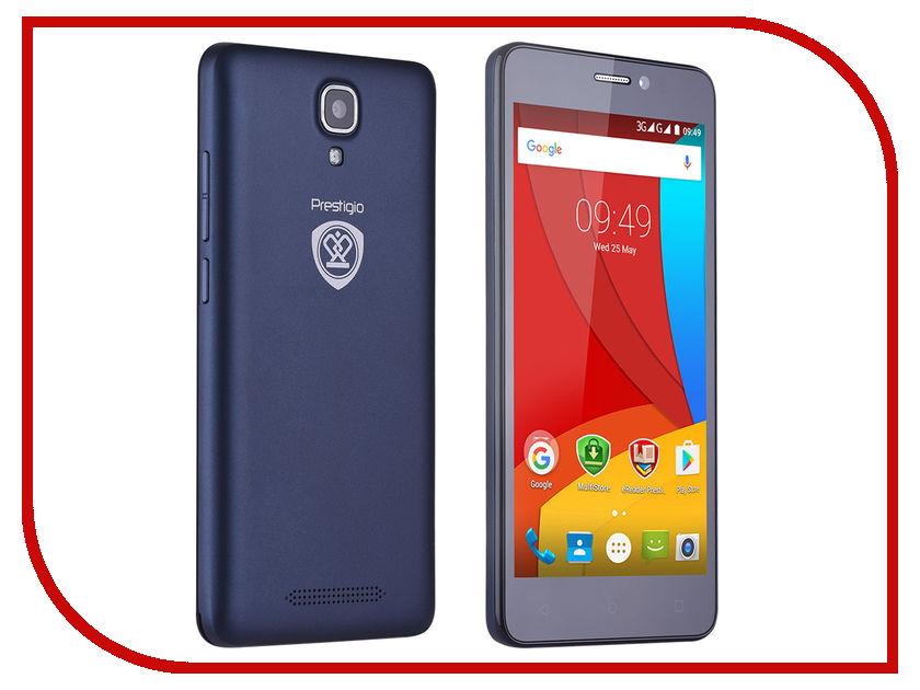 Сотовый телефон Prestigio Muze K5 PSP5509 Blue аксессуар чехол prestigio muze k5 zibelino classico black zcl prst k5 blk
