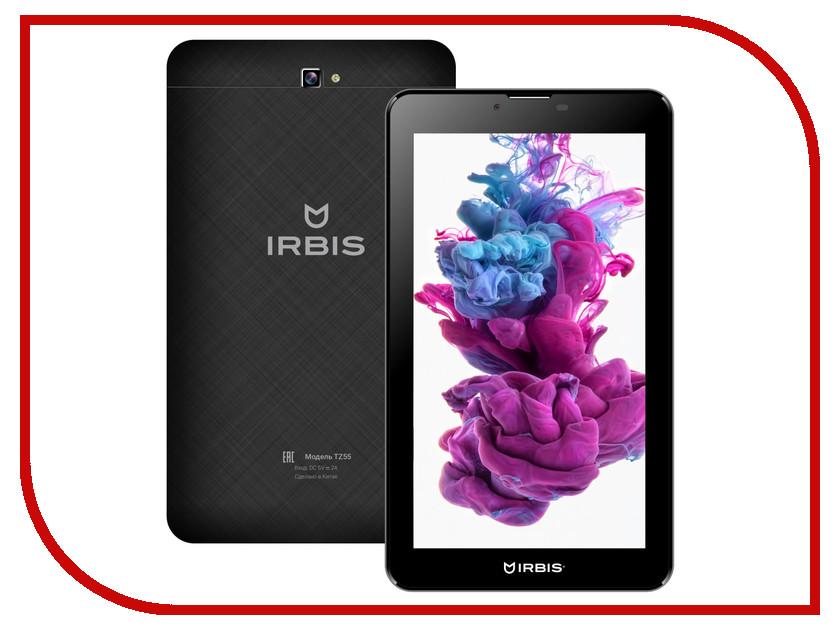 Планшет Irbis TZ55 (MTK8312 CW 1.3 GHz/1024Mb/8Gb/Wi-Fi/3G/Bluetooth/Cam/7.0/1024x600/Android)