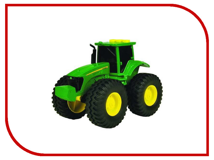 Машина Tomy John Deere ТО42934 машина tomy john deere mega monster wheels т11312