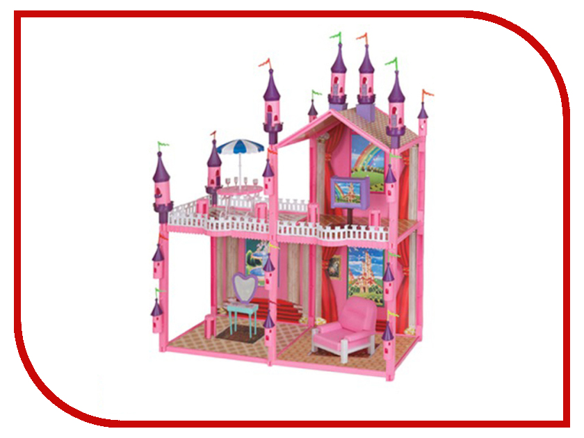 Игра 1Toy Замок для кукол Т51875 настольная игра 1toy бильярд т52443