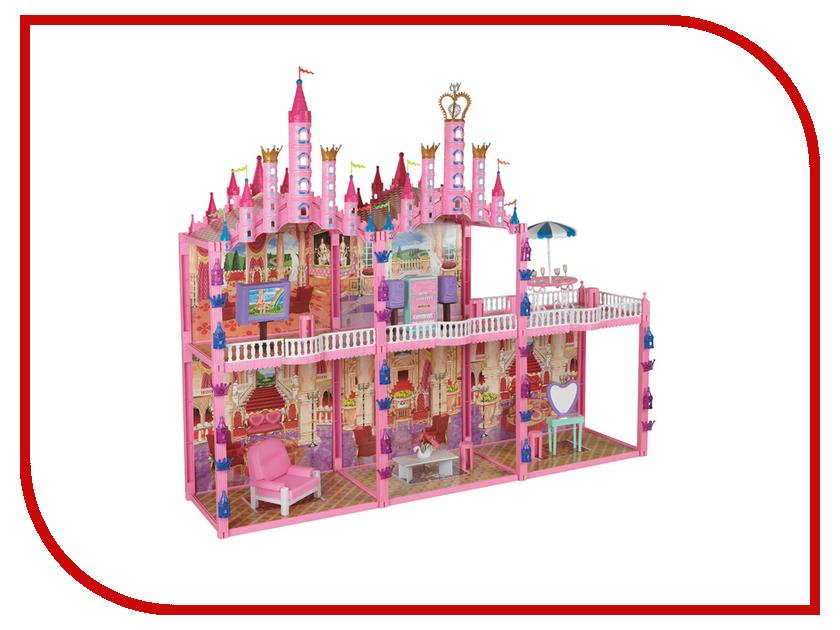 Игра 1Toy Красотка Замок для кукол Т53237 настольная игра 1toy бильярд т52443