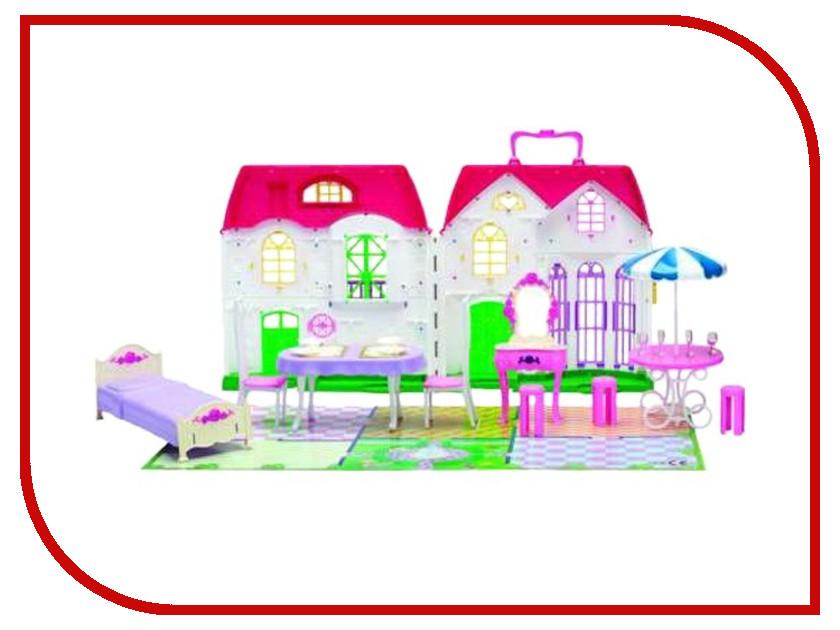 Игра 1Toy Красотка Дом для кукол Т56586 кукольные домики 1toy дом для кукол с мебелью 2 секции 28 деталей 1toy красотка