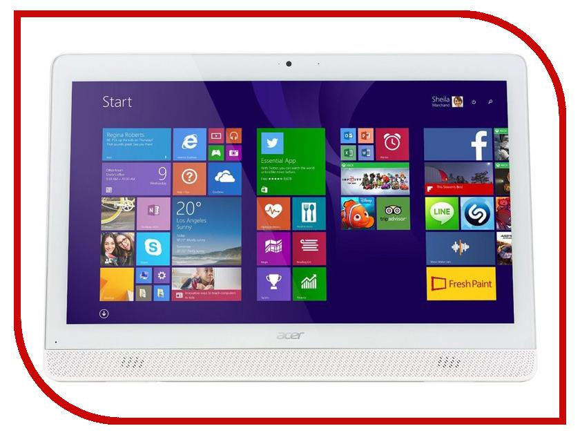 Моноблок Acer Aspire Z1-612 DQ.B2QER.010 Intel Pentium N3700 1.6 GHz/4096Mb/1Tb/Intel HD Graphics 400/DVD-RW/Gigabit Ethernet/Wi-Fi/Bluetooth/19.5/1600x900/Windows 10<br>