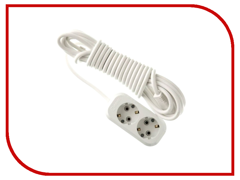 Удлинитель Makel 2 Sockets 2m MGP112 сетевой фильтр makel 2 sockets 7m mgp107
