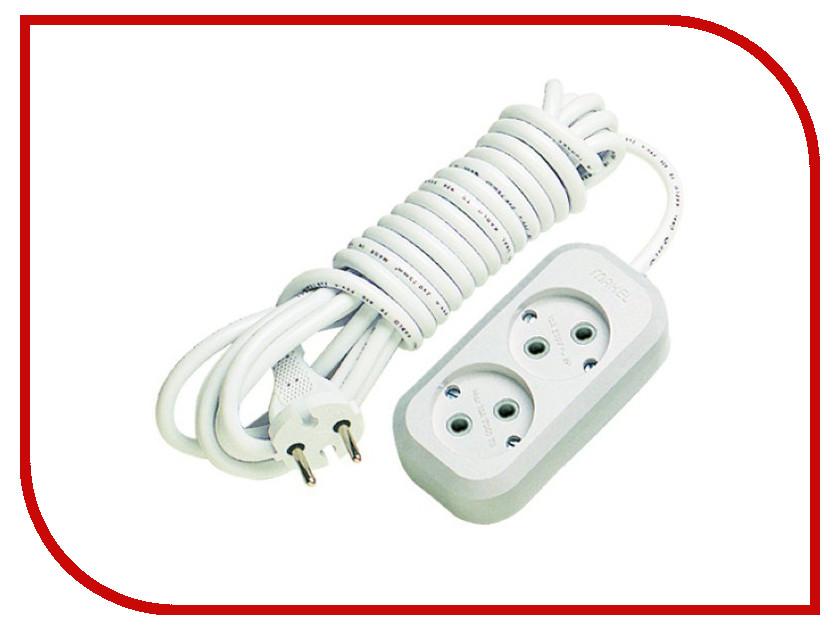 Удлинитель Makel 2 Sockets 5m MGP104 сетевой фильтр makel 2 sockets 7m mgp107