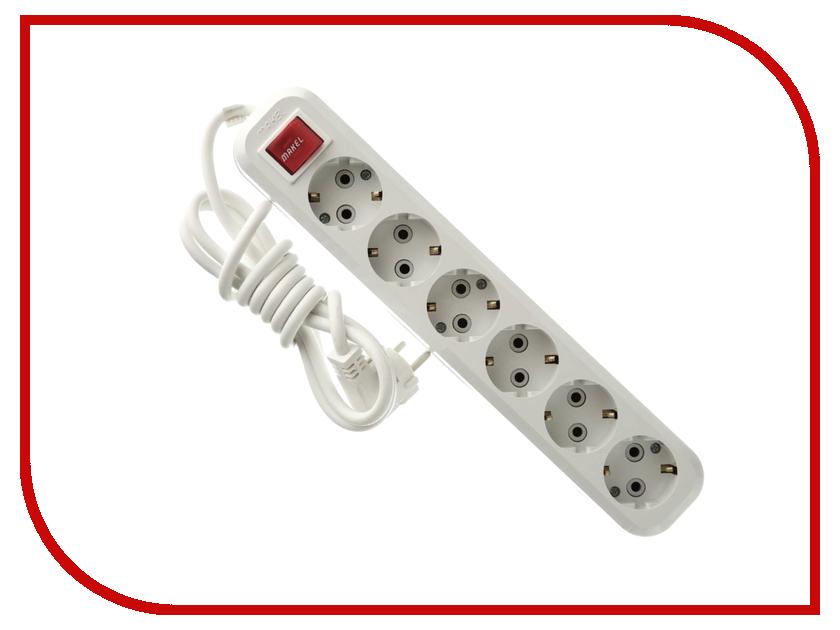 Сетевой фильтр Makel 6 Sockets 2m MGP232