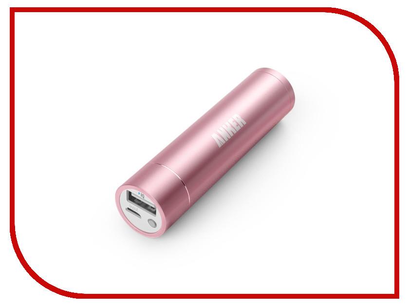 Аккумулятор Anker Astro mini 3350 mAh A1104H51 Pink 20643<br>