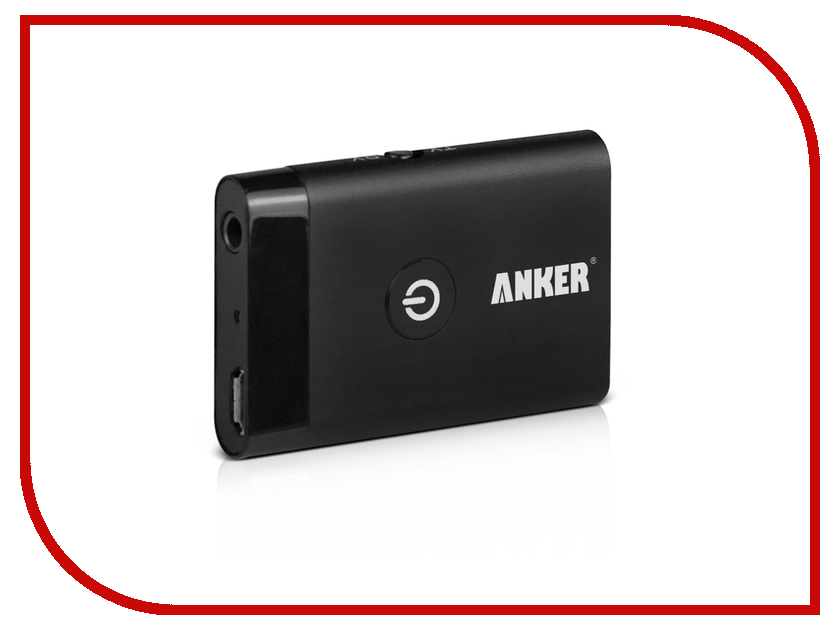FM-����������� Anker Reciever+Transmitter 3.5 Bluetooth 99ANRECV-02BA Black 20645