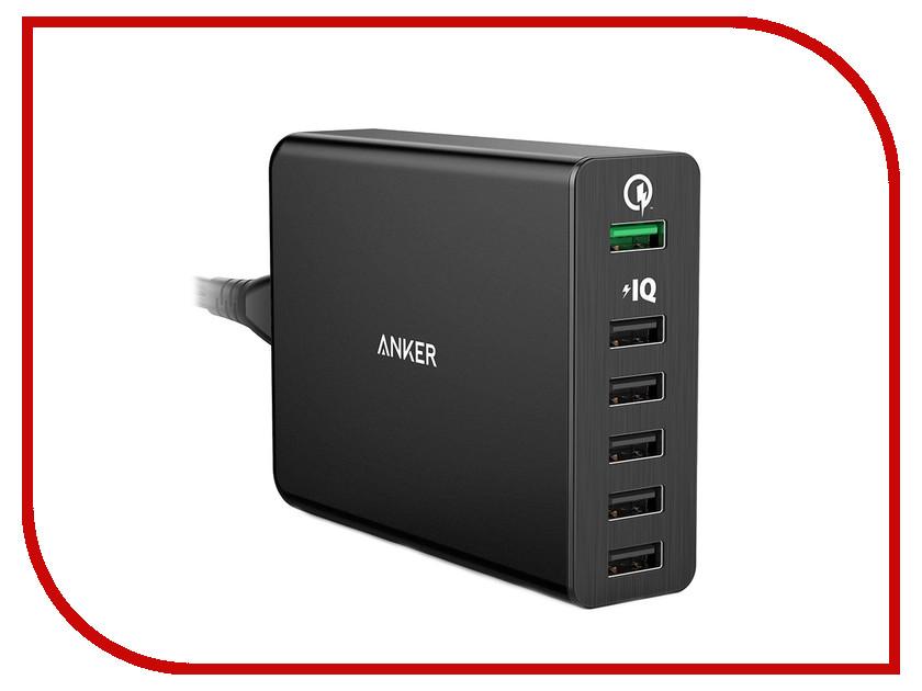 Зарядное устройство Anker Powerport+6 A2062311 Black 20641<br>