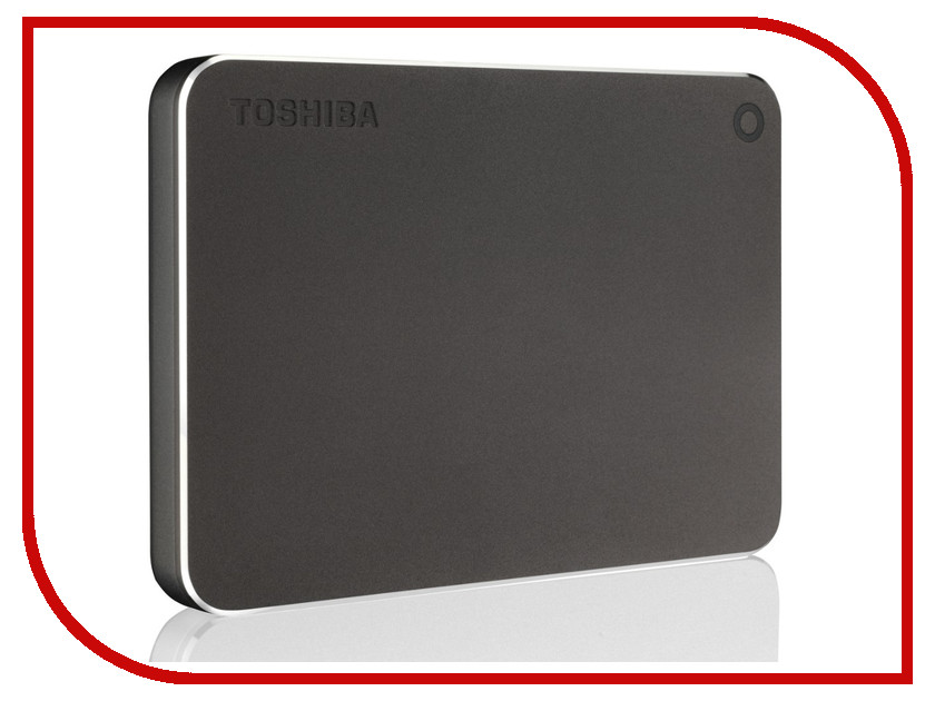 Жесткий диск Toshiba Canvio Premium 2Tb Dark Grey HDTW120EB3CA