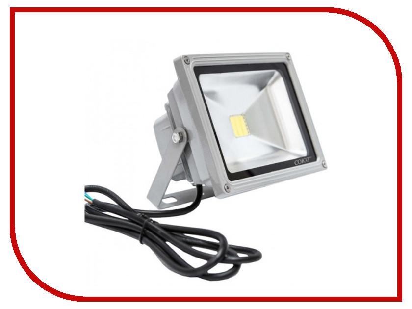 Лампа СОЮЗ SFLLED-COB-30-865-GR-IP65 1413672