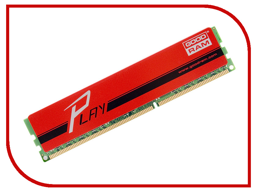Модуль памяти GoodRAM DDR3 DIMM 1866MHz PC3-15000 CL10 - 8Gb GYR1866D364L10/8G