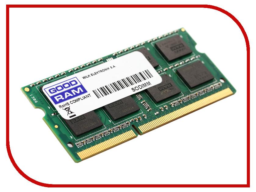 Модуль памяти GoodRAM DDR3L SO-DIMM 1600MHz PC3-12800 CL11 - 8Gb GR1600S3V64L11/8G<br>