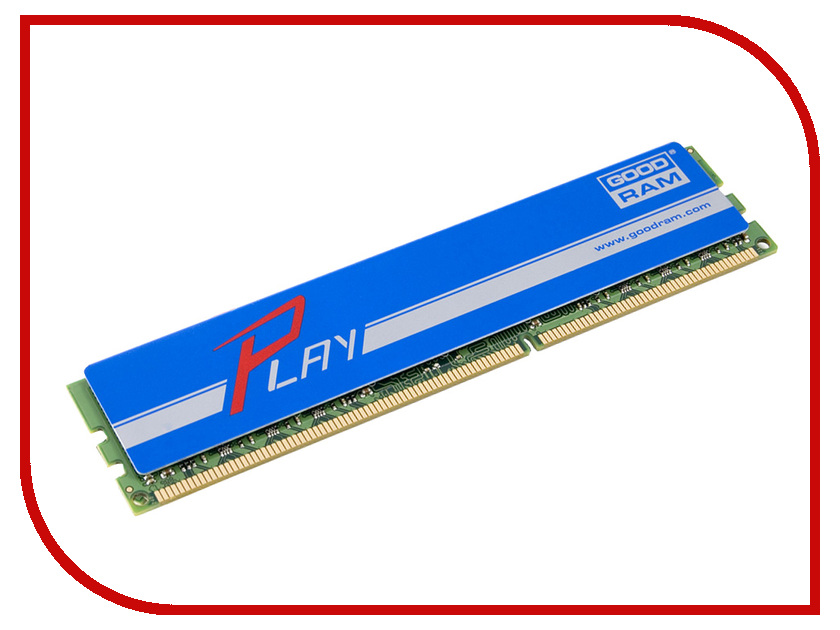 Модуль памяти GoodRAM DDR3 DIMM 1866MHz PC3-15000 CL10 - 8Gb GYB1866D364L10/8G
