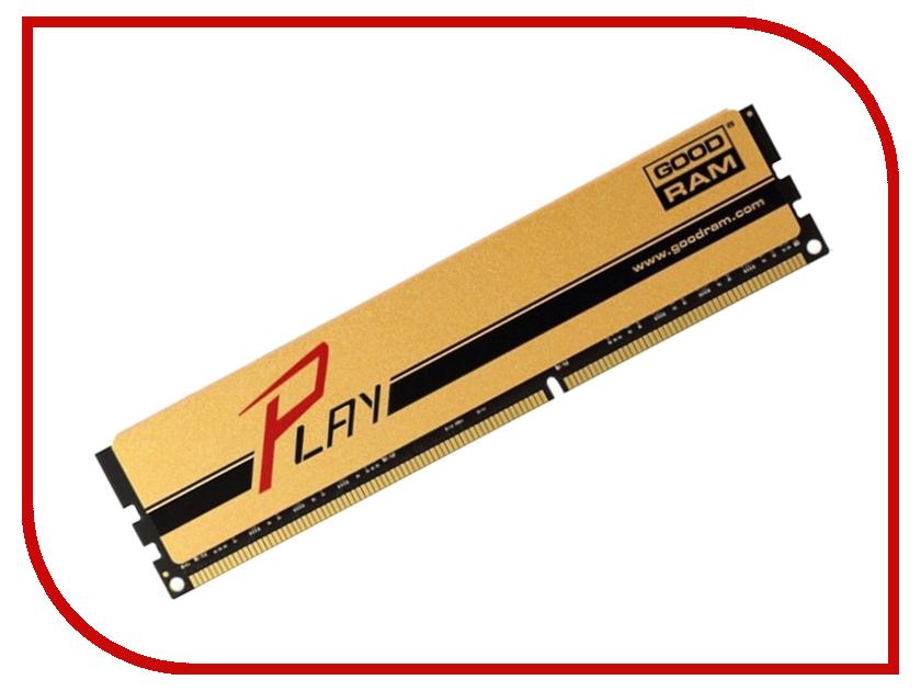 Модуль памяти GoodRAM PC3-15000 DIMM DDR3 1866MHz CL9 - 4Gb GYG1866D364L9AS/4G<br>