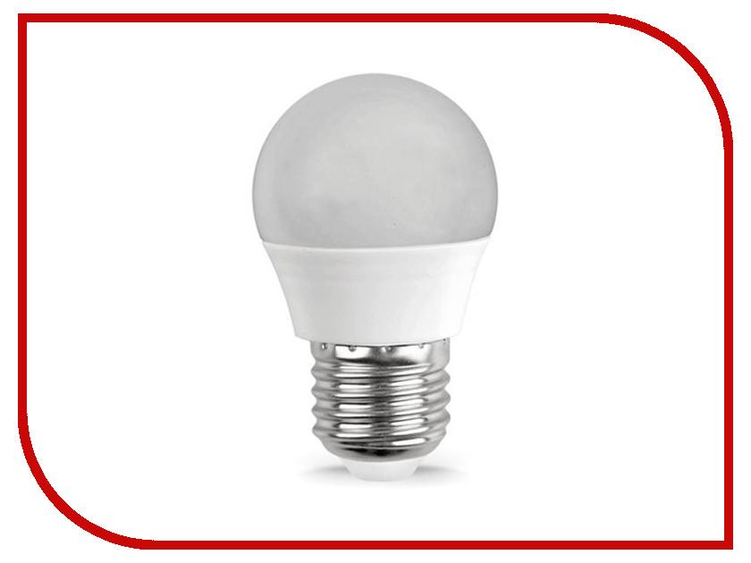 Лампочка UNIVersal СОЮЗ Шар SLED-SMD2835-G45-6W-500L-220V-4000K-E27 158