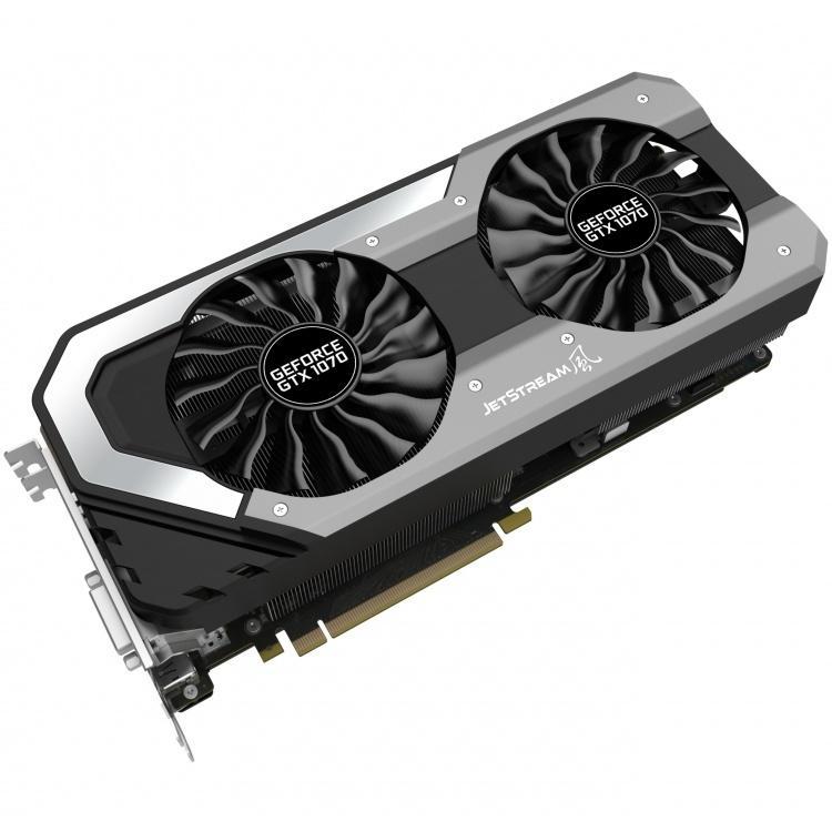 Видеокарта Palit GeForce GTX 1070 Super JetStream 1632Mhz PCI-E 3.0 8192Mb 8000Mhz 256 bit HDMI NE51070S15P2-1041J blaupunkt gtx 542