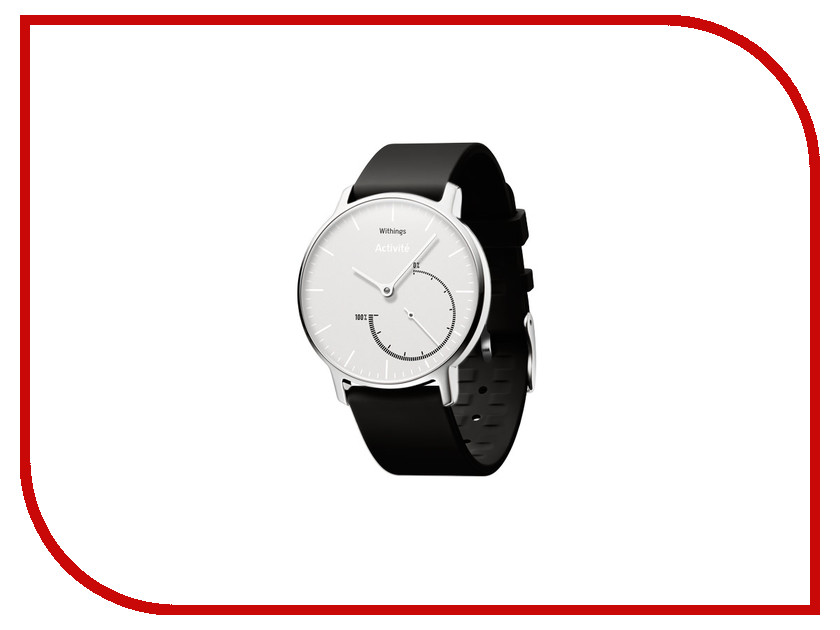 ����� ���� Withings Activite Steel Chrome White-Black Strap