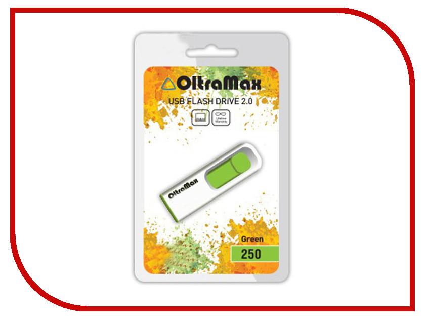 USB Flash Drive 64Gb - OltraMax 250 Green OM-64GB-250-Green<br>