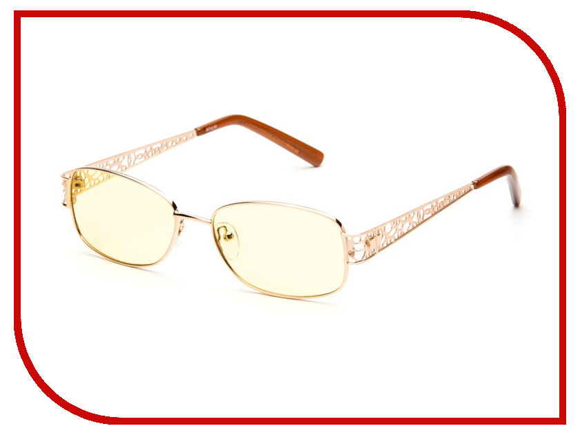 Очки компьютерные SPG Premium AF030 Gold<br>
