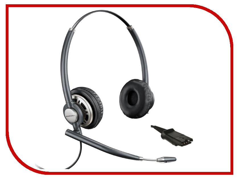 Гарнитура Plantronics EncorePro BNC Wideband PL-HW720 plantronics audio 355