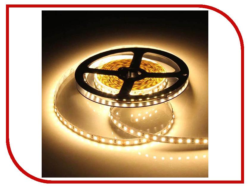 Светодиодная лента Crixled CRS SMD2835-600-WW-N-12В 120 LED/m NN 5m Warm White