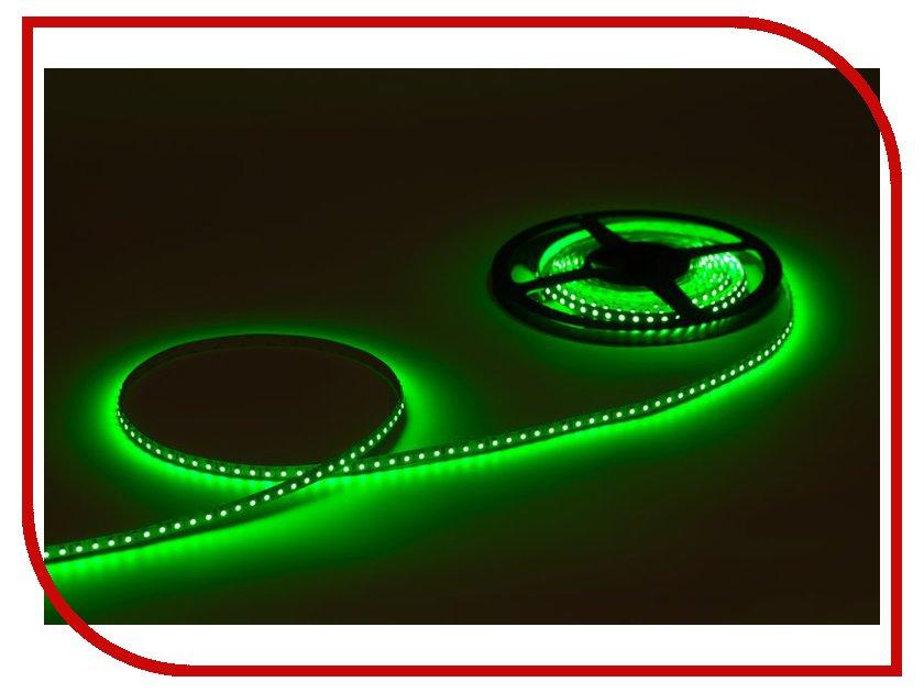 Светодиодная лента Crixled CRS SMD3528-600-G-N-12В 120 LED/m NN 5m Green<br>