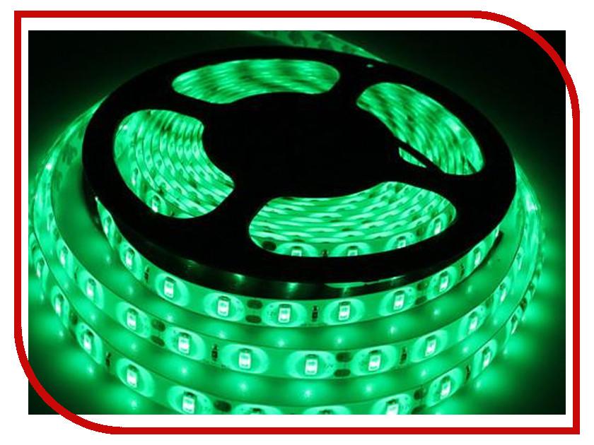 Светодиодная лента Crixled CRS SMD3528-600-G-WR-12В 120 LED/m IP65 NN 5m Green