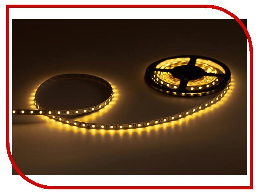 Светодиодная лента Crixled CRS SMD3528-600-Y-WR-12В 120 LED/m IP65 NN 5m Yellow<br>