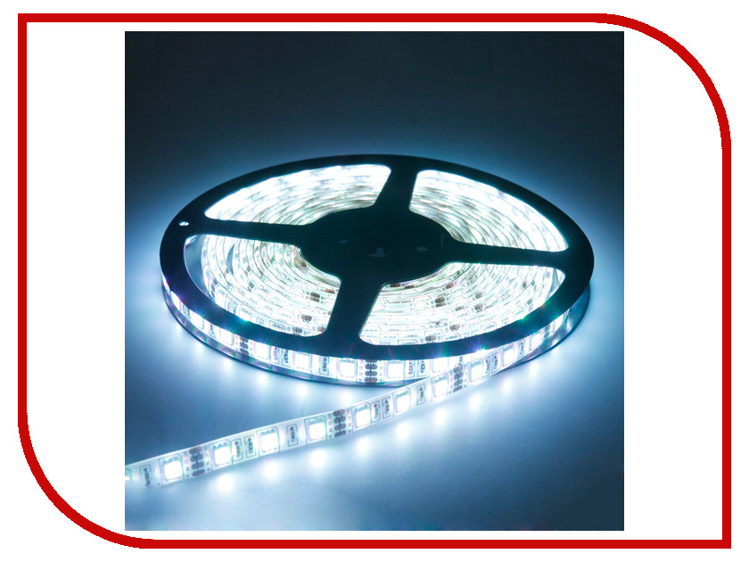 Светодиодная лента Crixled CRS SMD5050-300-W-N-12В 60 LED/m NN 5m White