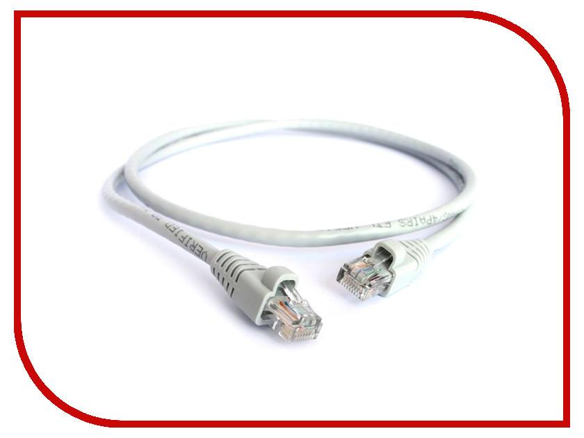 ��������� Greenconnect UTP 24AWG 5e RJ45 T568B 0.10m Grey GCR-LNC03-0.1m